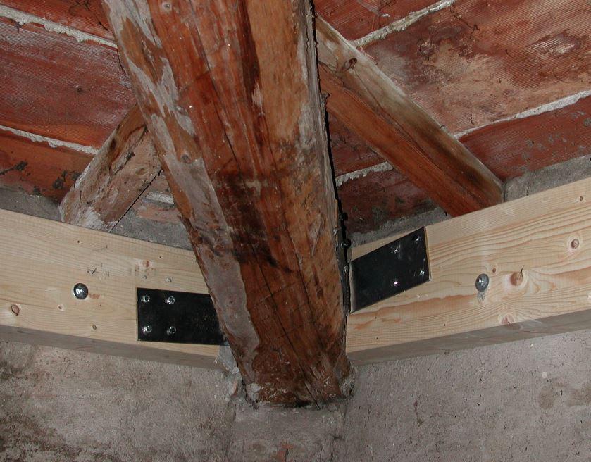 Rinforzi legno tetto 2